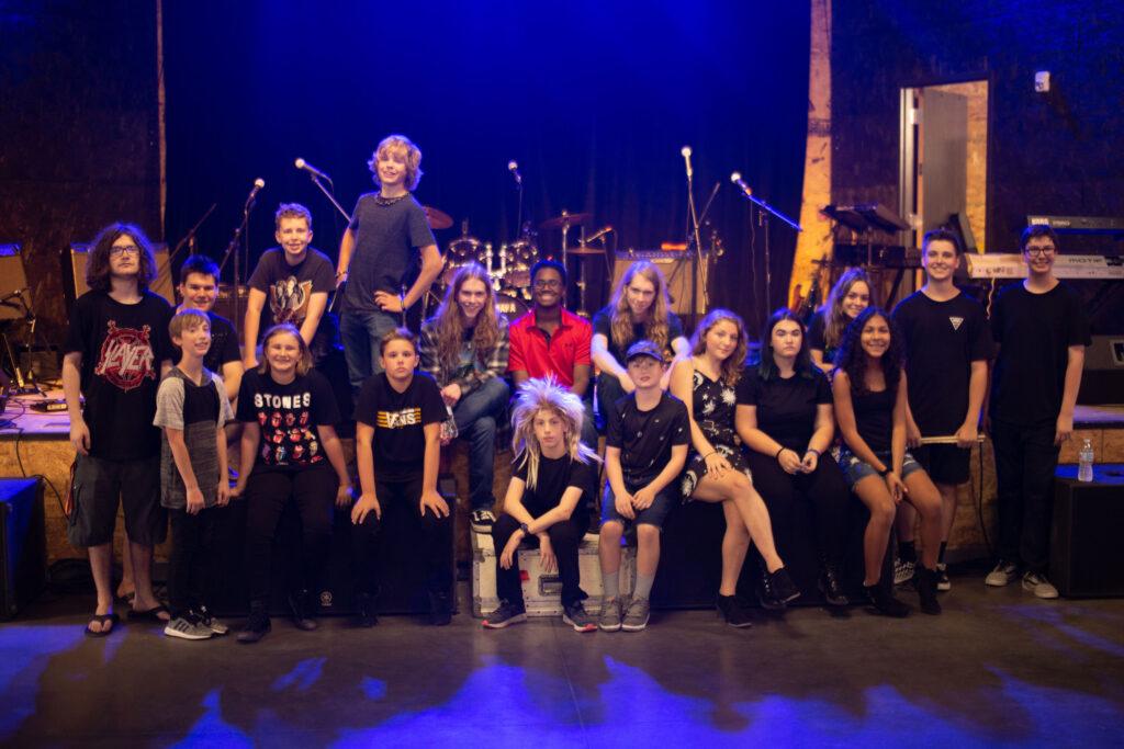 Rock Music Performance group photo